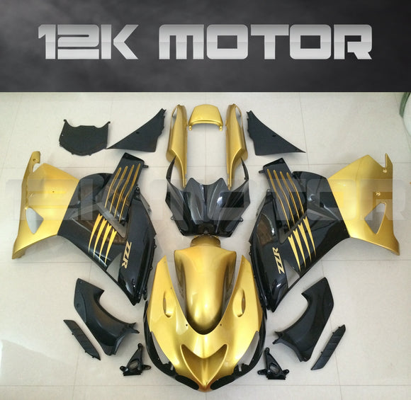 Gold Color Aftermarket Fairing Kit Fit KAWASAKI 2006 - 2011 ZX-14R