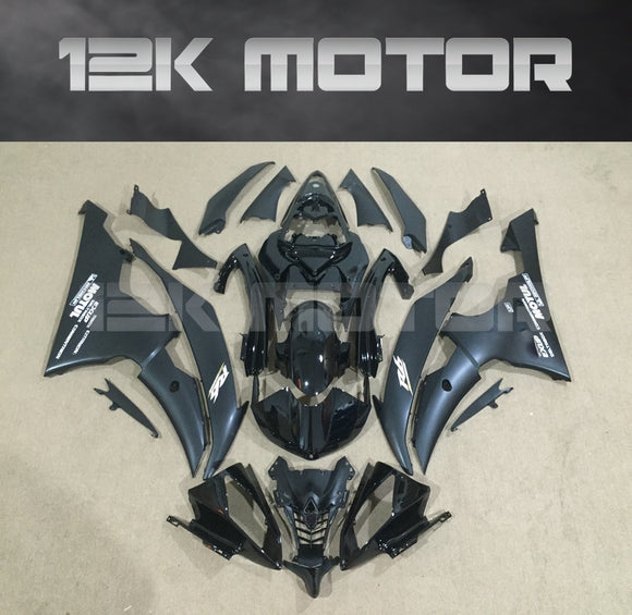 Black Fairing Kit fit for Yamaha R6 2008-2016 Aftermarket Fairing Kits