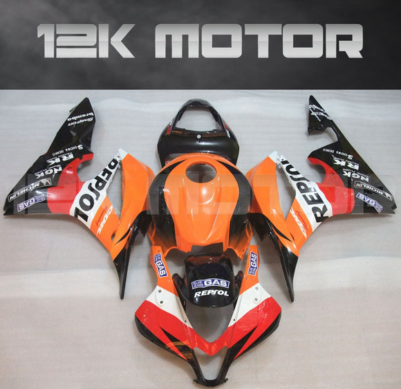 Fit for HONDA CBR600RR 2007 2008 Repsol Fairing  Aftermarket Fairing Kit