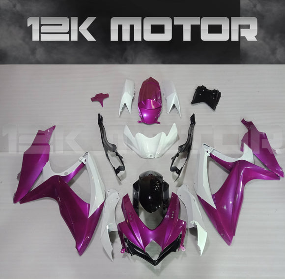 Purple Color Fairing Kit for SUZUKI 2008 2009 2010 GSXR600 GSXR 750