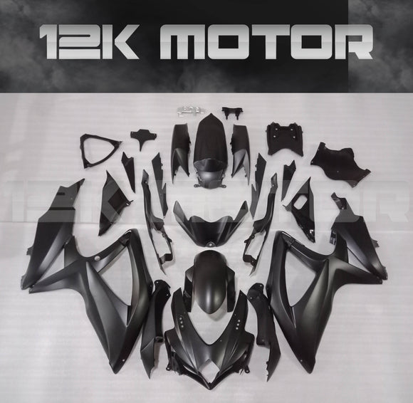 All Matt Black Fairing Kit for SUZUKI 2008 2009 2010 GSXR600 GSXR 750