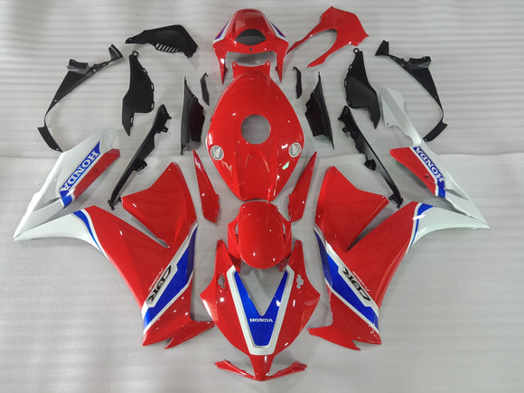 ---AU STOCKING---Tri Color Fairing kit For Honda CBR1000RR 2012-2016 New Design