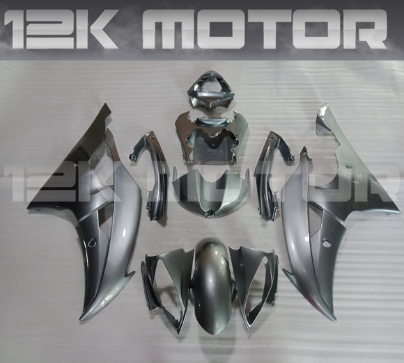 All Silver Color Fairing fit for Yamaha R6 2008-2016 Aftermarket Fairing Kits