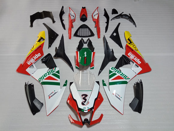 ---AU STOCKING--- Aprilia RSV4 2009 - 2016 Alitalia Fairing Kit