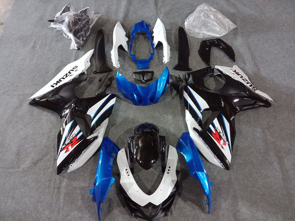 ---AU STOCKING---Blue Black Special Design Fairing Kit For Suzuki GSXR1000 2009 - 2016