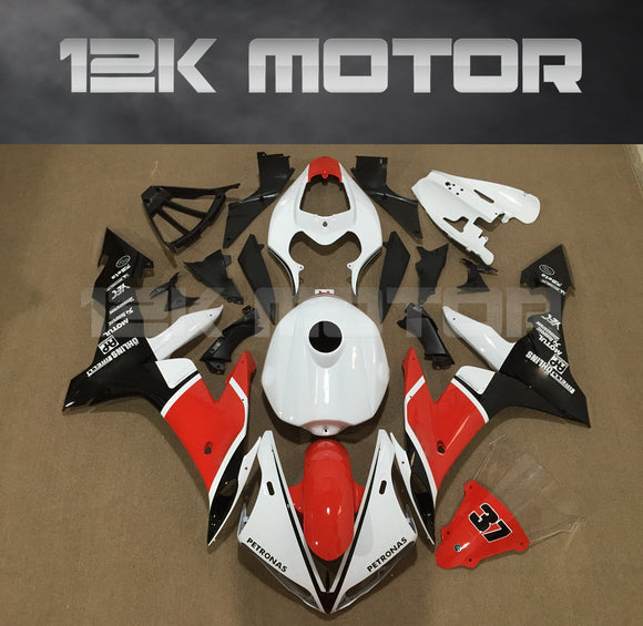 White Red Fairing For Yamaha R1 2004 2005 2006 Aftermarket Fairing Kit