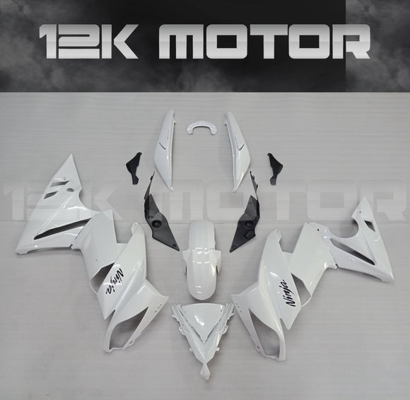 White Color Fairing Kit For KAWASAKI Ninja 650R EX650C 2009 2010 2011 2012