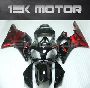 Black Red Fairing For Yamaha R1 1998 1999 Aftermarket Fairing Kit