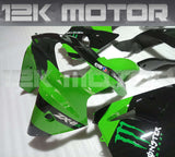 Monster Scheme Fairing kit fit KAWASAKI ZX6R 2000 2001 2002