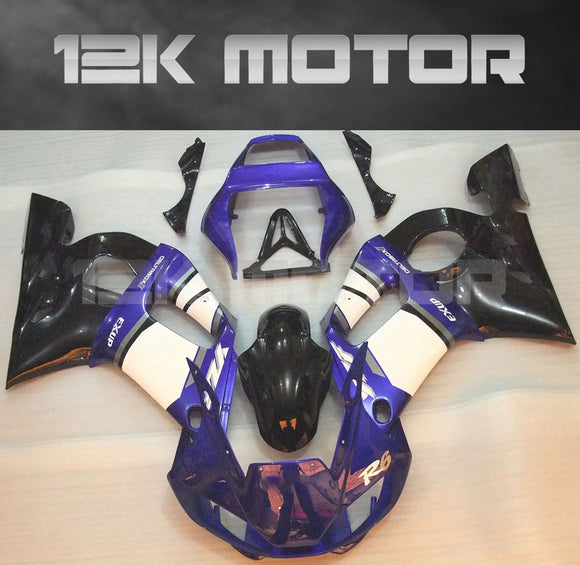 Blue White Design aftermarket Fairing Yamaha R6 1998-2002