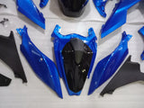 ---AUSTOCKING---Fit Kawasaki Ninja 400 Blue and black Fairing Kit With Tank cover and Rear seat cowl