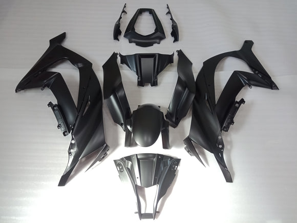 ---AU STOCKING---Matt Black Fairing Kit For KAWASAKI ZX10R 2011 - 2015