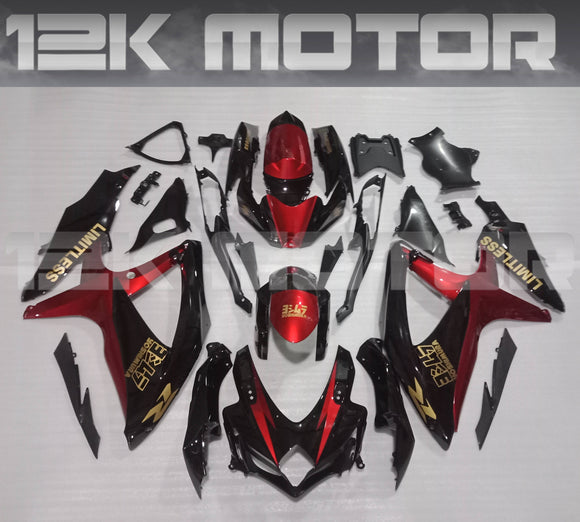Custom Speical Design Fairing Kit for SUZUKI 2008 2009 2010 GSXR600 GSXR 750