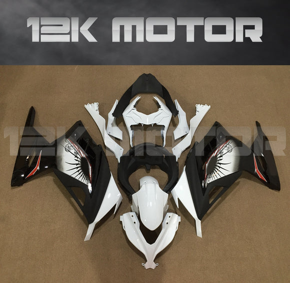 Ninja 300 Fairings Black Sun Fairing Kit For Kawasaki Ninja 300 fairing 2013-2017