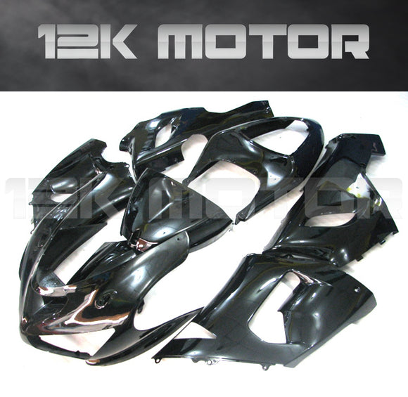 Black Aftermarket Fairing Kit fit 2005 to 2006 ZX-6R