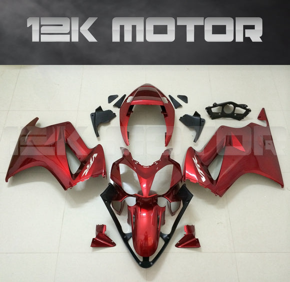 Red Fairing Fit HONDA VFR800 2002 - 2012 Aftermarket Fairing Kit