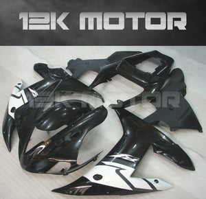 Gloss Black Fairing For Yamaha R1 2002 2003 Aftermarket Fairing Kit