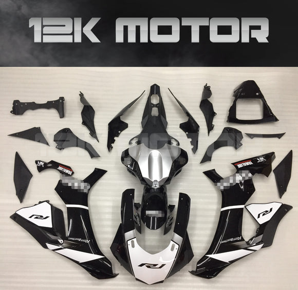 White Black Design Fairing for Yamaha R1 2015-2019 Aftermarket Fairing kits