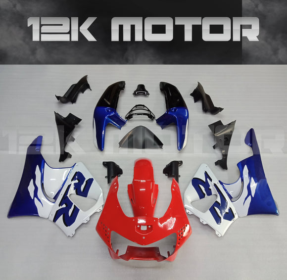 Tri-Color Fairing Kit Fi HONDA CBR900RR 1998 1999