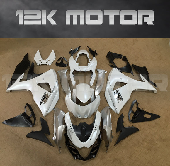 Gloss White Fairing  fit for SUZUKI GSXR 1000 2009-2017 Aftermarket Fairing Kit