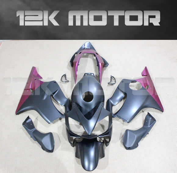 Black Fit for HONDA CBR600RR F4i 2004 2005 2006 2007 Aftermarket Fairing Kit
