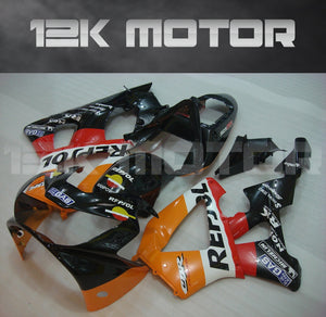 Black Orange Fairing fit for HONDA CBR929RR 2000 2001 Aftermarket Fairing Kit