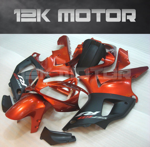 Black Orange Fairing For Yamaha R1 2000 2001 Aftermarket Fairing Kit