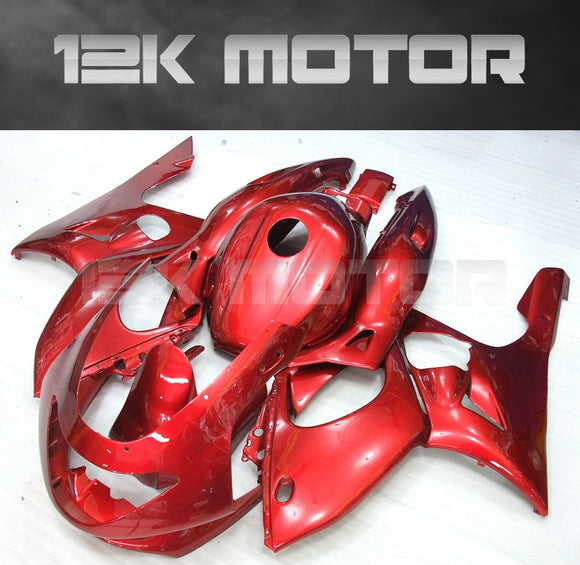 Red Fairing Kit fit for YAMAHA YZF600R Thundercat 1997-2007