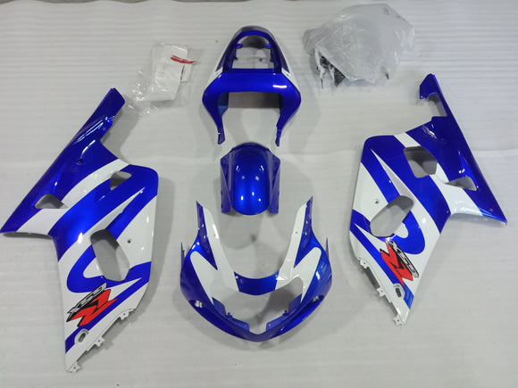 ---AU STOCKING---Factory Blue Fairing Kit For Suzuki GSXR1000 2000 2001 2002