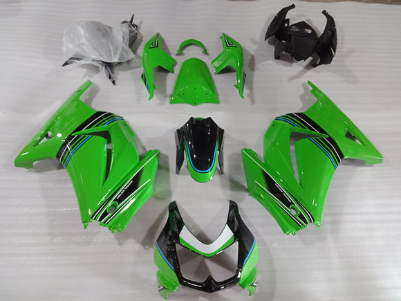 ---AUSTOCKING--- Green Fairing Kit For Kawasaki Ninja 250