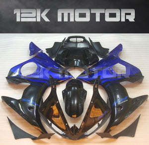 Black Blue Fairing fit for Yamaha R6 2003-2005 Aftermarket Fairing Kits