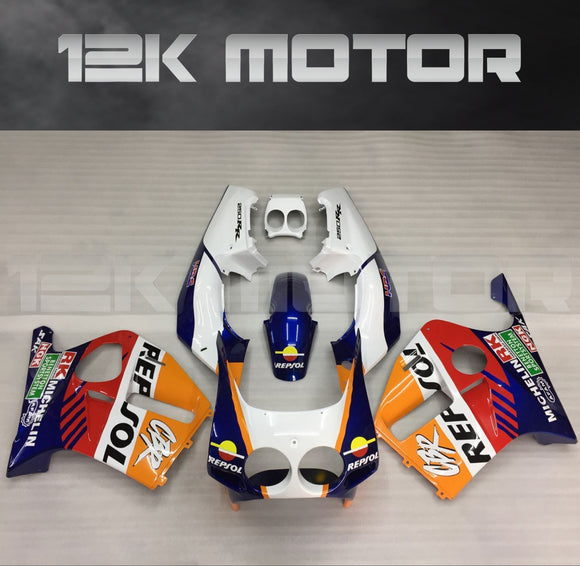 HONDA CBR250RR fairings MC19 fairing kits 1988 1989 Repsol 1 Fairing set