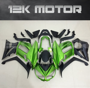 Z1000sx Fairing Kit for Kawasaki Z1000SX fairings 2010-2015 Black Green Fairing