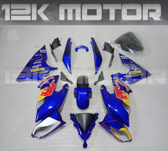 Redbull Scheme Fairing Kit For KAWASAKI Ninja 650R EX650C 2009 2010 2011 2012