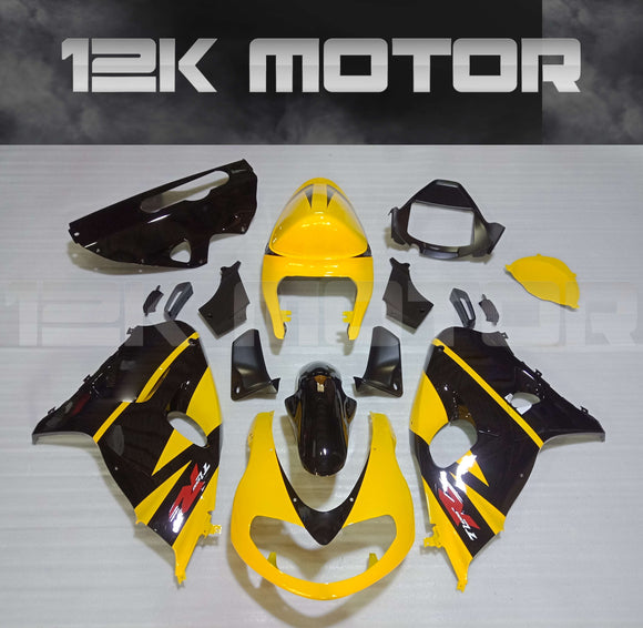 SUZUKI TL1000R fairings 1998-2003 Fairing Kits Black Yellow