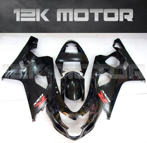 Black OEM Design Fairing Fit For SUZUKI GSXR 600/750 2004 2005 Aftermarket Fairing Kit