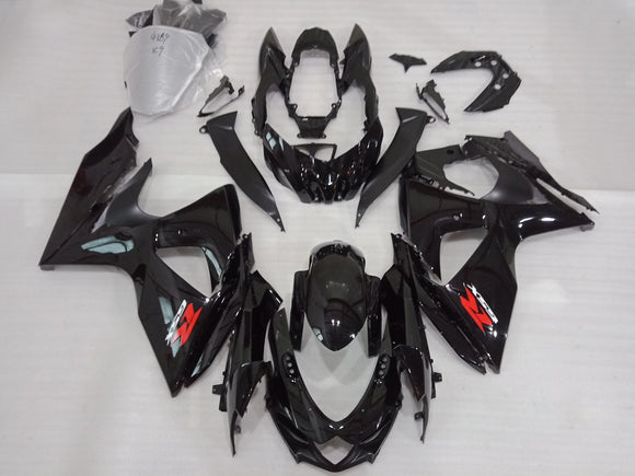 ---AU STOCKING---Gloss Black Fairing Kit For Suzuki GSXR GSX-R 1000 2009 - 2016