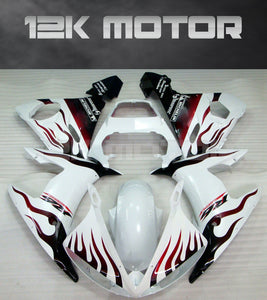 White Fairing fit for Yamaha 2003 2004 2005 R6 Fairing Kits