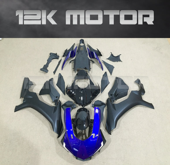 Black and Blue Fairing for Yamaha R1 2015-2019 Aftermarket Fairing kits