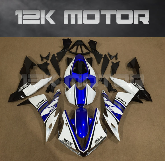 White Blue Fairing For Yamaha R1 2004 2005 2006 Aftermarket Fairing Kit