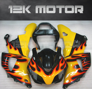 Yellow Flame Fairing For Yamaha R1 1998 1999 Aftermarket Fairing Kit