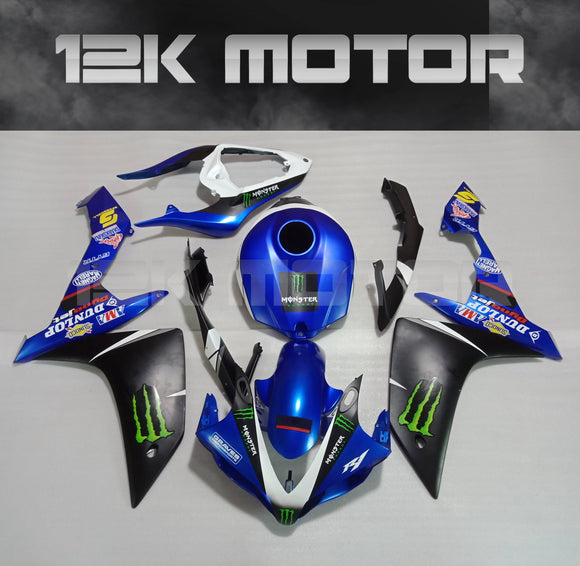 Blue Factory Design Fairing for Yamaha R1 2007 2008 Aftermarket Fairing kits
