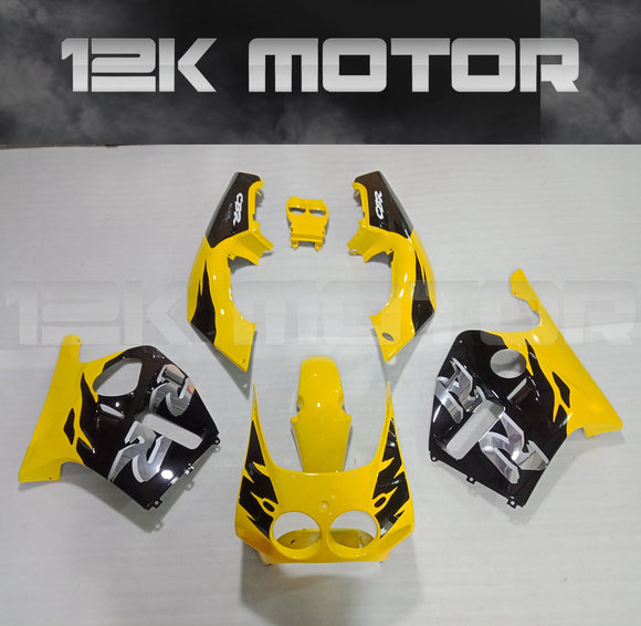 Yellow Fairing set Fit For HONDA CBR250RR MC19  1988 1989 Aftermarket Fairing Kit