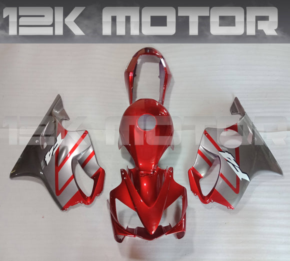 Candy Red Fit HONDA CBR600RR F4i 2004 2005 2006 2007 Aftermarket Fairing Kit