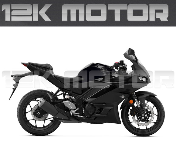 Power Black Fairing Kit For YAMAHA R3 R25 2019 2020