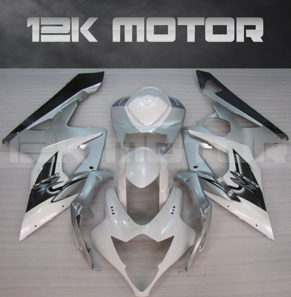 Silver Fairing kits Fit for SUZUKI GSXR 1000 2005 2006 Aftermarket Fairing Kit