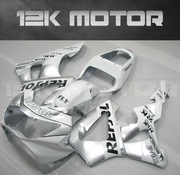 Sliver Fairing fit for HONDA CBR929RR 2000 2001 Aftermarket Fairing Kit