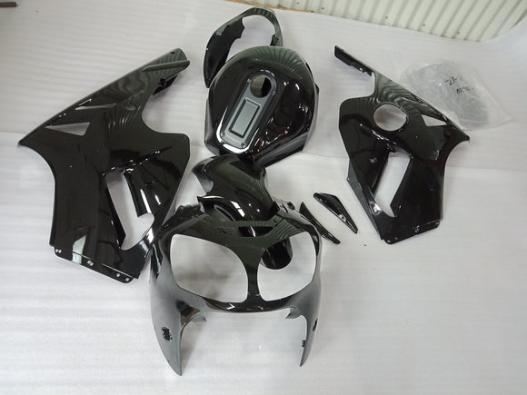 ---AUSTOCKING---Fit Kawasaki ZX-12R 2000 2001 Black Fairing Kit With Tank Cover