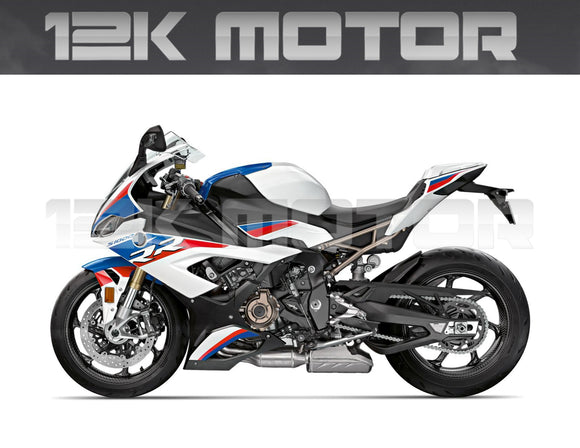 BMW S1000RR 2019 2020 TriColor Fairing Kit
