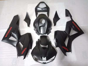 ---AU STOCKING---Fit Honda CBR600RR 2013 - 2019 Matt Black Fairing Kit With 3D Badges